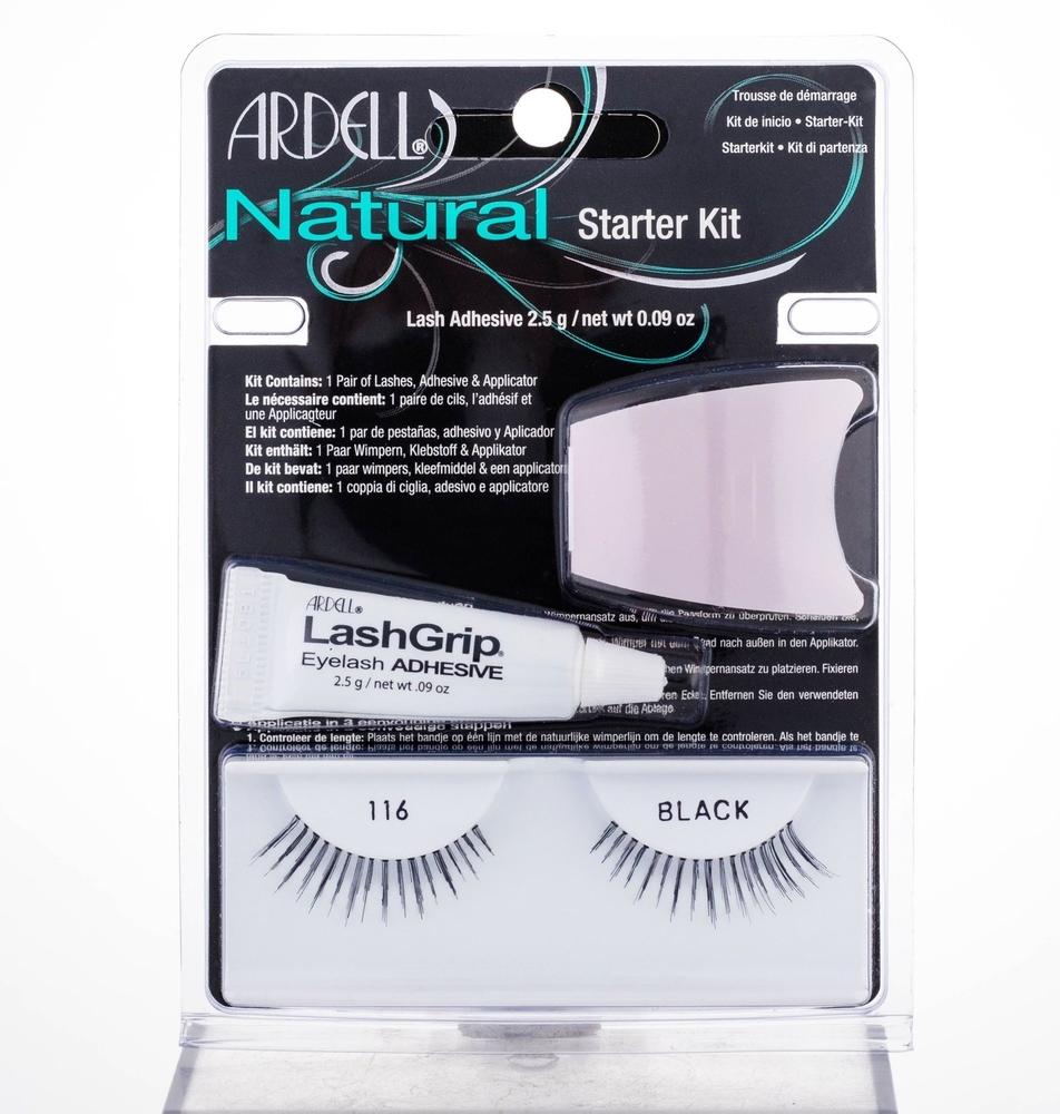 Ardell Natural 116 False Eyelashes 1pc Black oμορφια   μακιγιάζ   μακιγιάζ προσώπου   αξεσουάρ μακιγιάζ