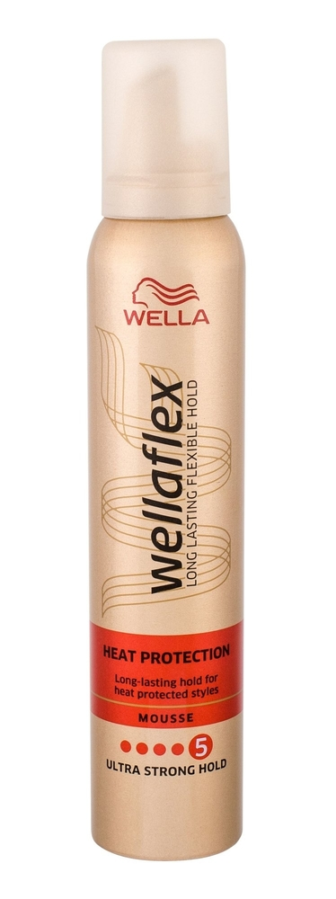 Wella Flex Heat Protection Hair Mousse 200ml (Extra Strong Fixation) oμορφια   μαλλιά   styling μαλλιών   αφροί μαλλιών