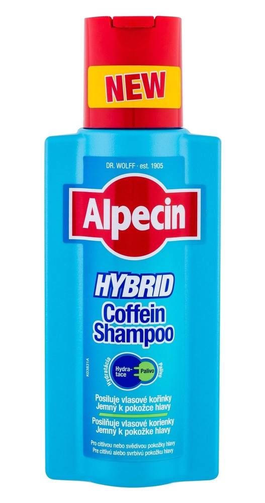 Alpecin Hybrid Coffein Shampoo Shampoo 250ml (Sensitive Scalp - Dry Hair)