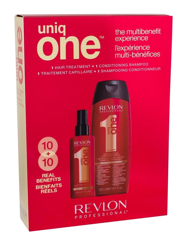 Revlon Professional Uniq One Hair Mask 150ml Combo: Hair Mask 150 Ml + Shampoo 300 Ml (Weak Hair)