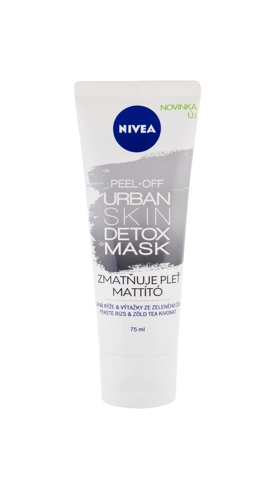Nivea Urban Skin Detox Peel-off Mask Face Mask 75ml (All Skin Types - For All Ages)