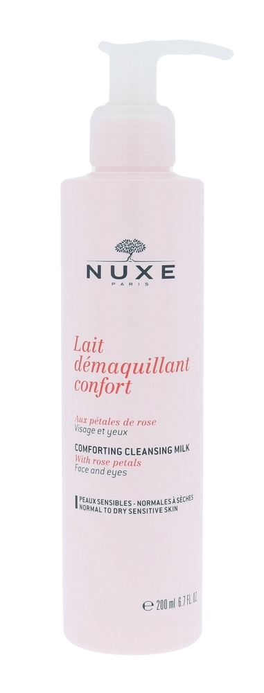Nuxe Rose Petals Cleanser Cleansing Milk 200ml Damaged Flacon (Normal - Dry)