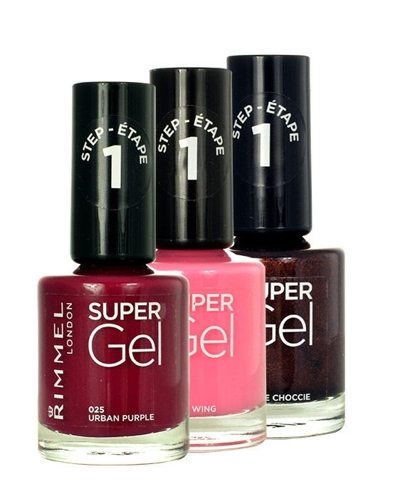 Rimmel London Super Gel Step1 Nail Polish 12ml 062 Punk Rock