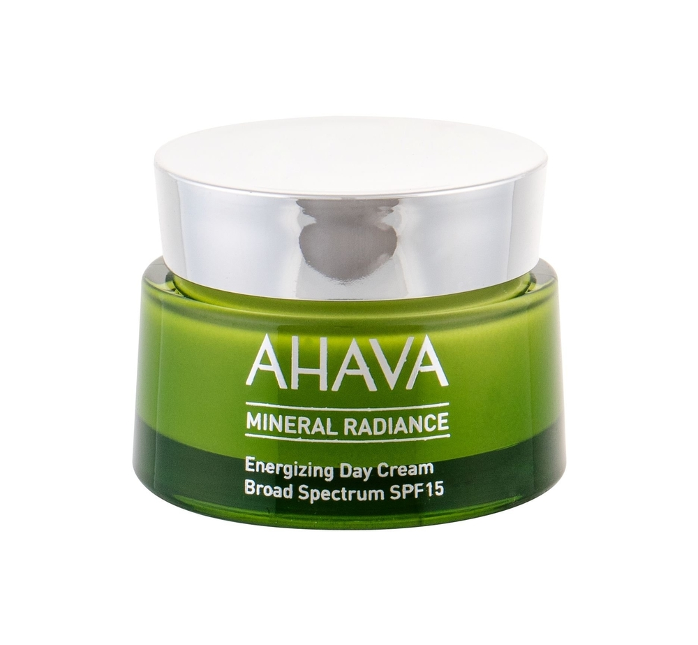 Ahava Mineral Radiance Energizing Day Cream 50ml Spf15 (All Skin Types - For All Ages)