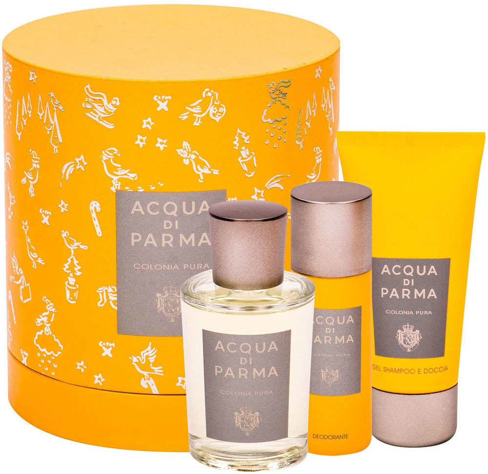 Acqua Di Parma Colonia Pura Eau de Cologne 100ml Combo: Cologne 100 Ml + Shower Gel 75 Ml + Deodorant 50 Ml