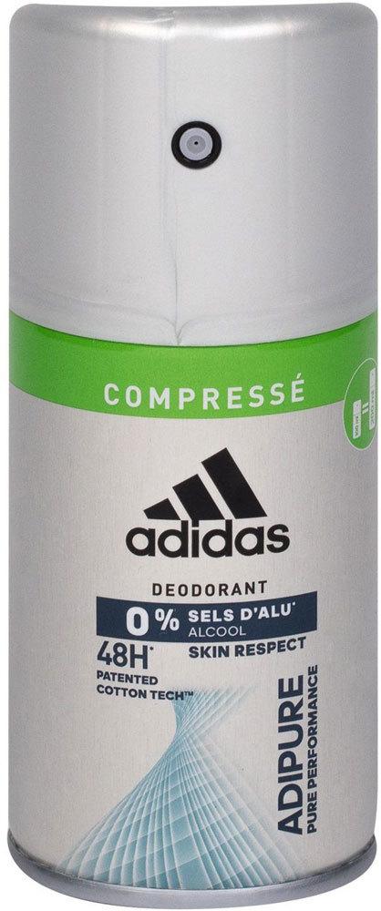 Adidas Adipure 48h Deodorant 100ml (Deo Spray - Aluminium Free - Alcohol Free)
