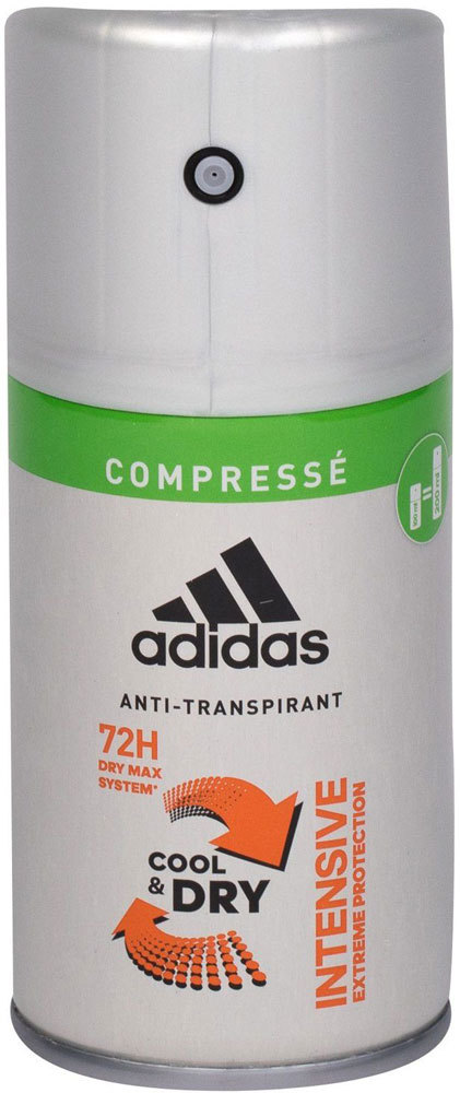 Adidas Intensive Cool & Dry 72h Antiperspirant 100ml (Deo Spray - Alcohol Free)