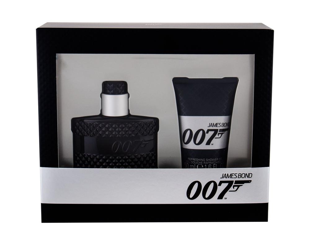 James Bond 007 Eau De Toilette 30Ml & 50Ml Shower Gel