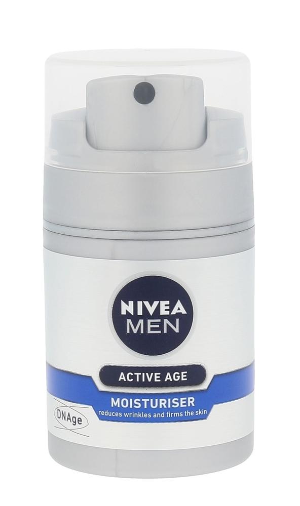 Nivea Men Active Age Moisturiser Day Cream 50ml (Wrinkles - All Skin Types)