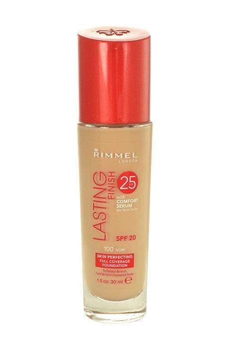 Rimmel London Lasting Finish 25hr Spf20 Makeup 30ml 100 Ivory