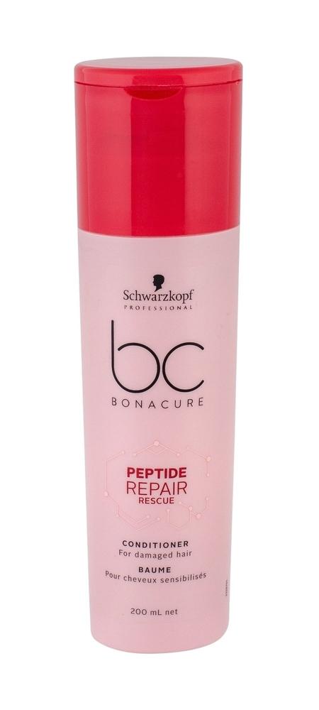 Schwarzkopf Bc Bonacure Peptide Repair Rescue Conditioner 200ml (Damaged Hair)