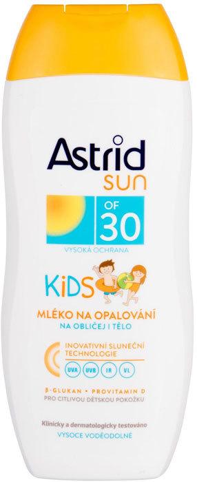 Astrid Sun Kids Face and Body Lotion SPF30 Sun Body Lotion 200ml (Waterproof)
