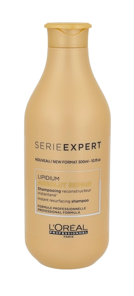 L/oreal Professionnel Serie Expert Absolut Repair Lipidum Shampoo 300ml (Damaged Hair)