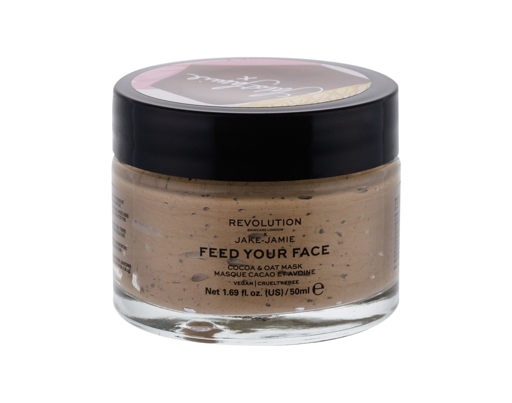 Makeup Revolution London Skincare X Jake-jamie Feed Your Face Face Mask 50pc Coco Oat (All Skin Types - For All Ages)