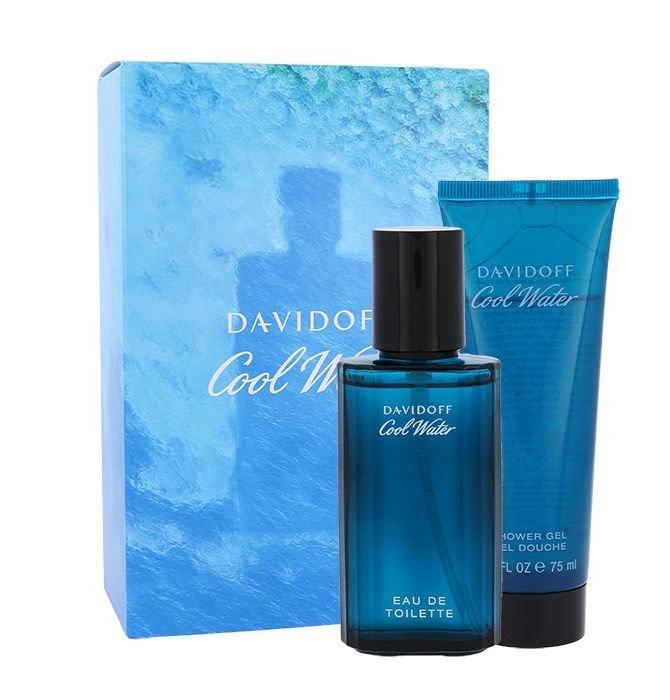 Davidoff Cool Water Eau De Toilette 40ml Combo: Edt 40ml + 75ml Shower Gel