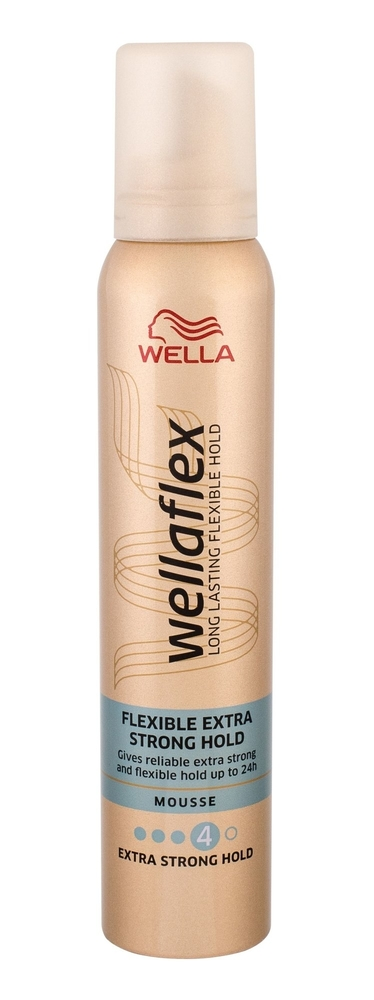 Wella Flex Flexible Extra Strong Hold Hair Mousse 200ml (Extra Strong Fixation) oμορφια   μαλλιά   styling μαλλιών   αφροί μαλλιών