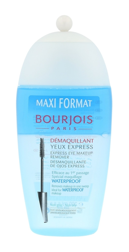 Bourjois Paris Express Eye For Waterproof Make-up Eye Makeup Remover 200ml Alcoh oμορφια   πρόσωπο   καθαρισμός προσώπου