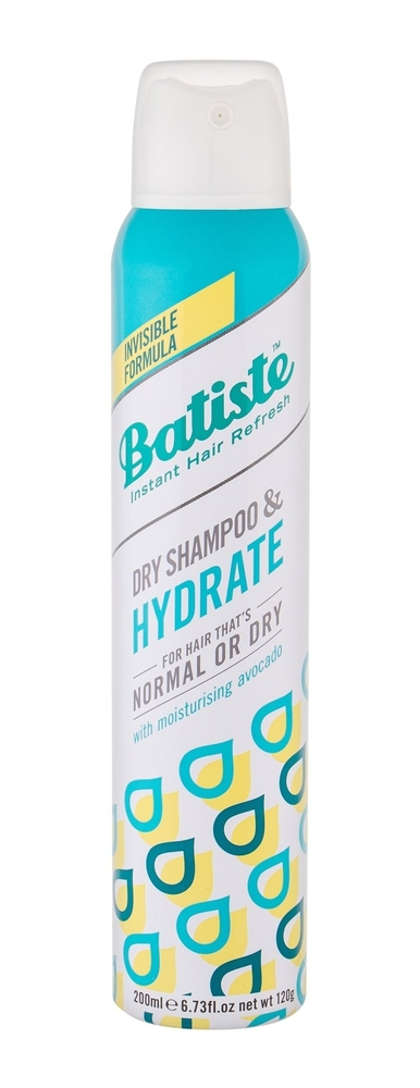 Batiste Hydrate Dry Shampoo 200ml (Normal Hair - Dry Hair)