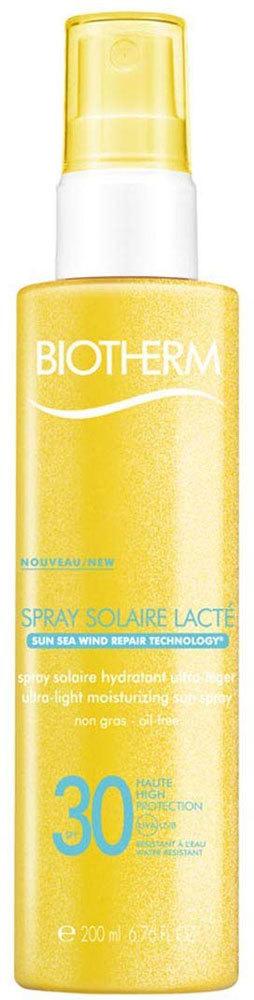 Biotherm Solaire Lacté Ultra-Light Sun Spray SPF15 Sun Body Lotion 200ml