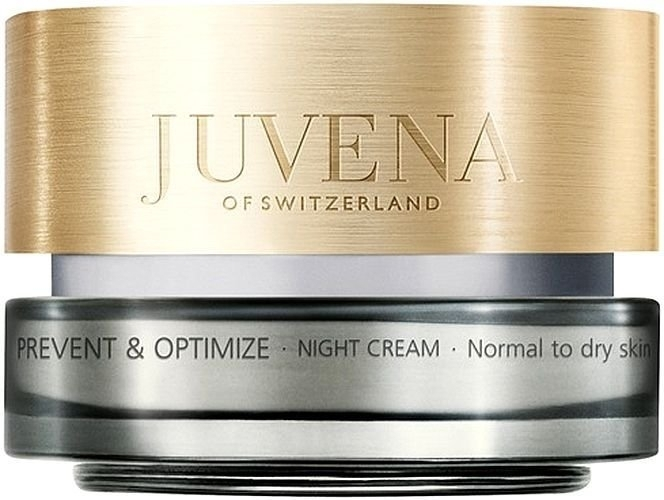 Juvena Prevent & Optimize Night Skin Cream 50ml (Normal - Dry - For All Ages)