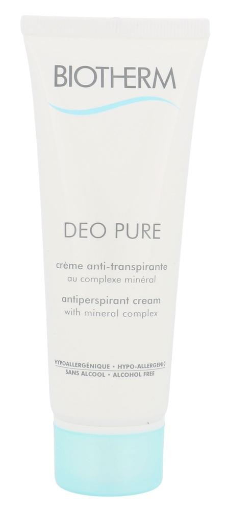 Biotherm Deo Pure Antiperspirant 75ml Alcohol Free (Cream)