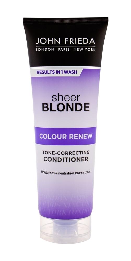 JOHN FRIEDA Sheer Blonde Colour Renew Tone Correcting Conditioner 250ml oμορφια   μαλλιά   φροντίδα μαλλιών   conditioner