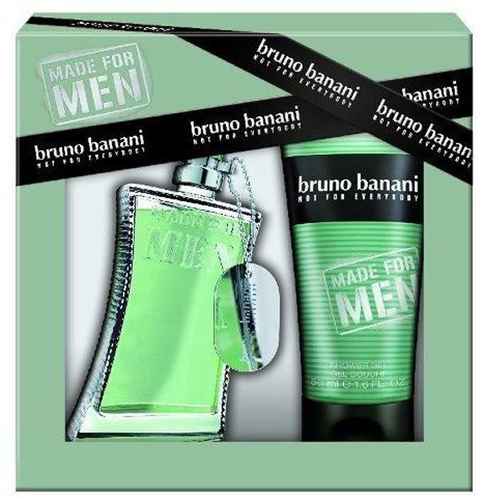 Bruno Banani Made For Men Eau de Toilette 30ml Combo: Edt 30ml + 50ml Shower Gel