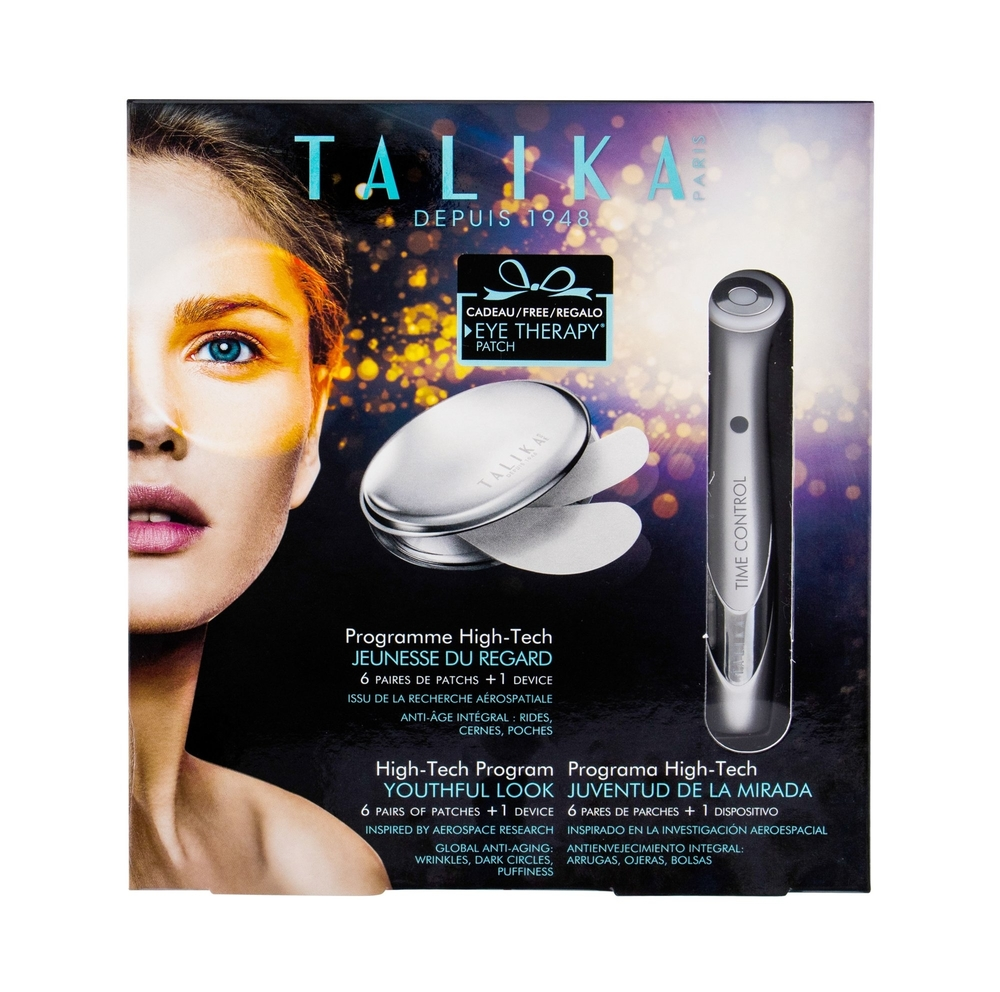 Talika Eye Therapy Patch Refill Eye Gel 6pc - Set Combo Eye Therapy Patch 6 Pcs + Device + Patch Case (Wrinkles - All Skin Types)