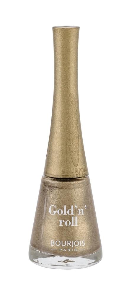 Bourjois Paris 1 Second Nail Polish 9ml 05 Gold/n/roll oμορφια   μακιγιάζ   προϊόντα νυχιών   βερνίκια νυχιών