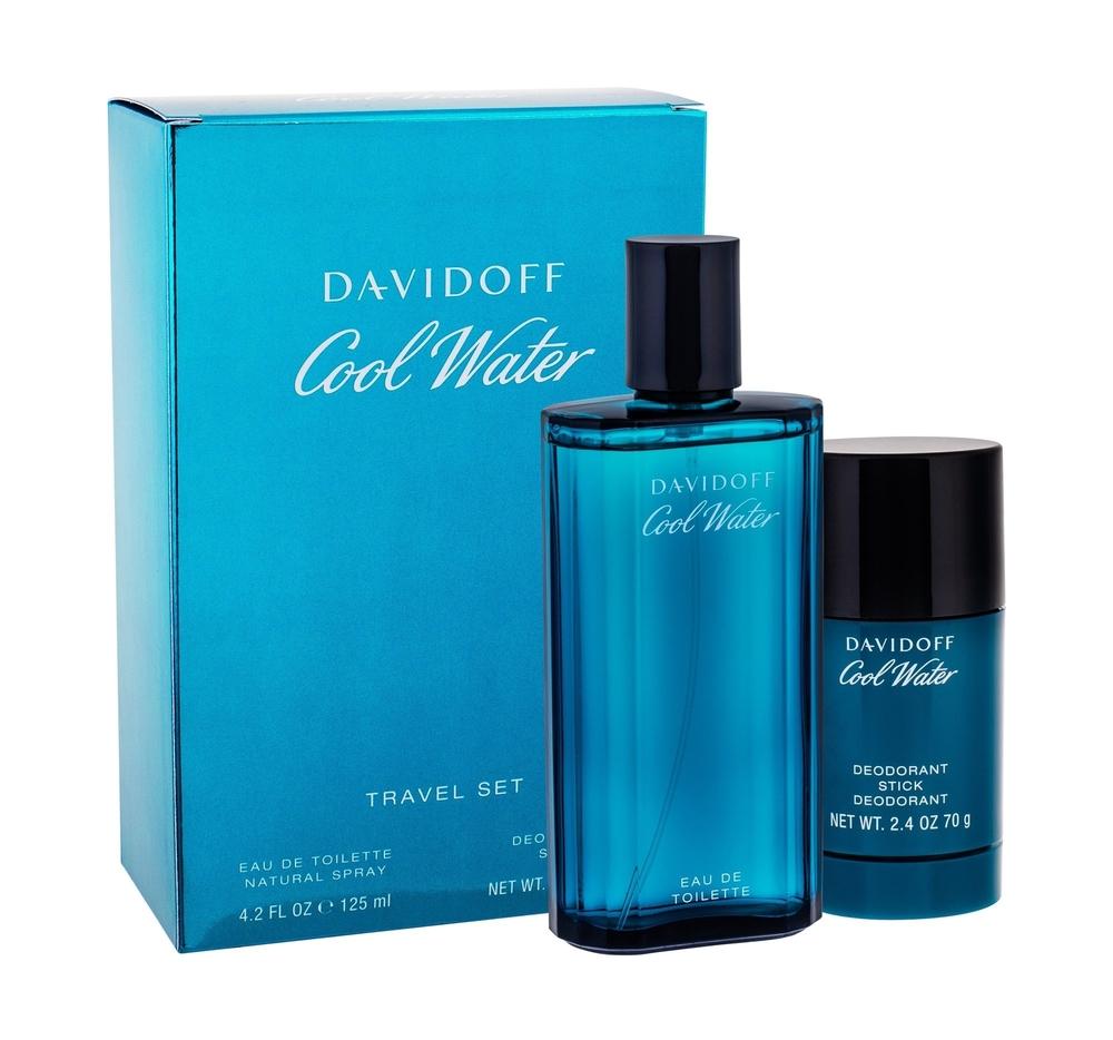 Davidoff Cool Water Eau De Toilette 125ml Combo: Edt 125 Ml + Deostick 75 Ml