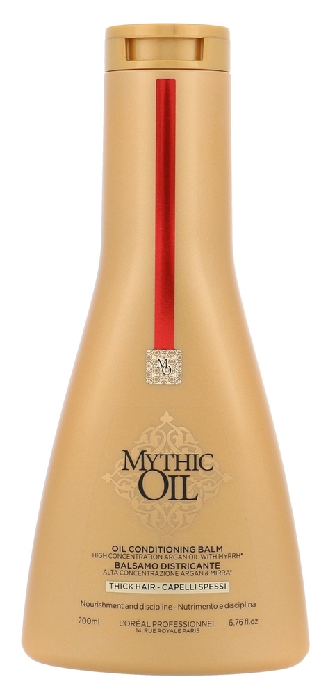L/oreal Professionnel Mythic Oil Oil Conditioning Balm Conditioner 200ml (Unruly Hair)