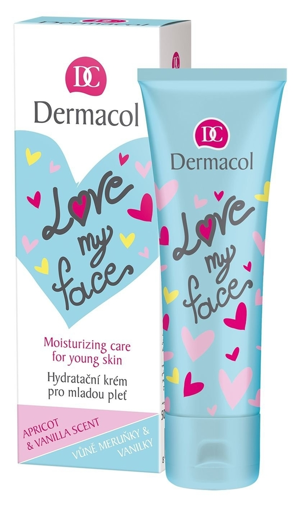 Dermacol Love My Face Moisturizing Care Day Cream 50ml (Young Skin - All Skin Ty oμορφια   πρόσωπο   κρέμες προσώπου