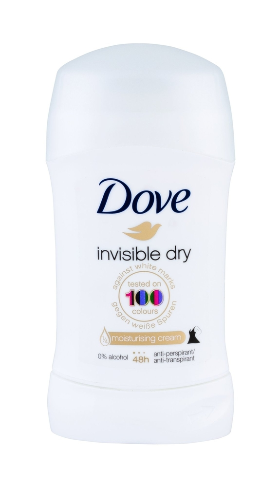 Dove Invisible Dry Antiperspirant 30ml Alcohol Free 48h (Deostick)
