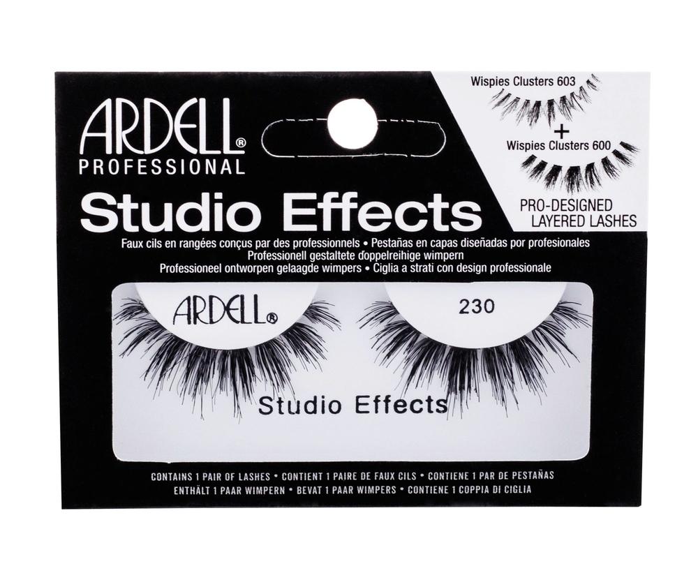 Ardell Studio Effects 230 Wispies False Eyelashes 1pc Black oμορφια   μακιγιάζ   μακιγιάζ προσώπου   αξεσουάρ μακιγιάζ