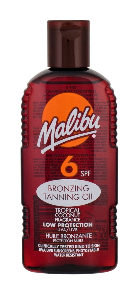Malibu Bronzing Tanning Oil Sun Body Lotion 200ml Spf6 oμορφια   αντηλιακή προστασία   αντηλιακά σώμα πρόσωπο   αντηλιακά
