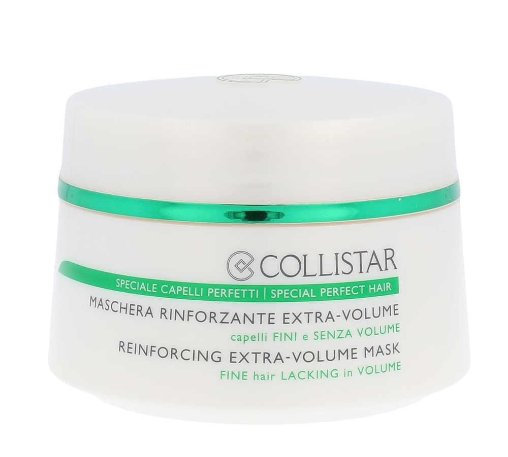 Collistar Volume And Vitality Reinforcing Extra-volume Mask Hair Mask 200ml (Fin oμορφια   μαλλιά   αναδόμηση μαλλιών   μάσκες μαλλιών