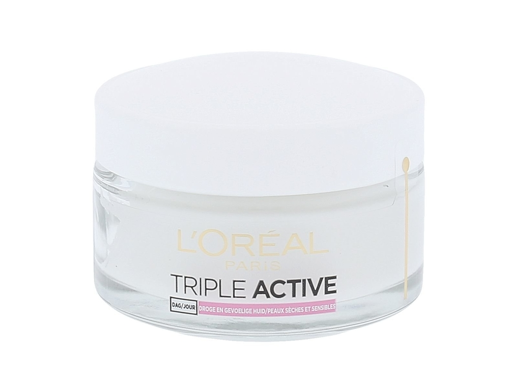 L/oreal Paris Triple Active Day Cream 50ml (All Skin Types - For All Ages)
