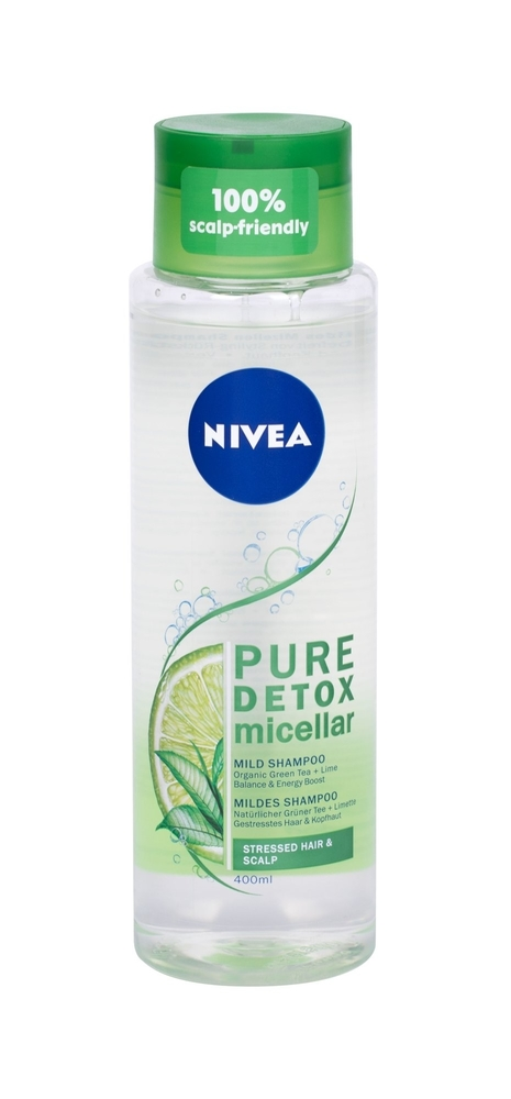 Nivea Pure Detox Micellar Shampoo 400ml (All Hair Types)