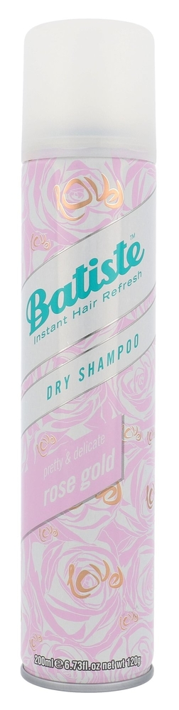 Batiste Rose Gold Dry Shampoo 200ml (All Hair Types)