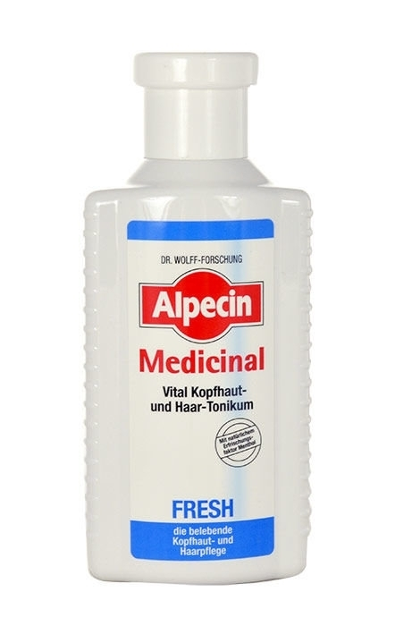 Alpecin Medicinal Fresh Scalp And Hair Tonic Hair Oils And Serum 200ml (Oily Hair)