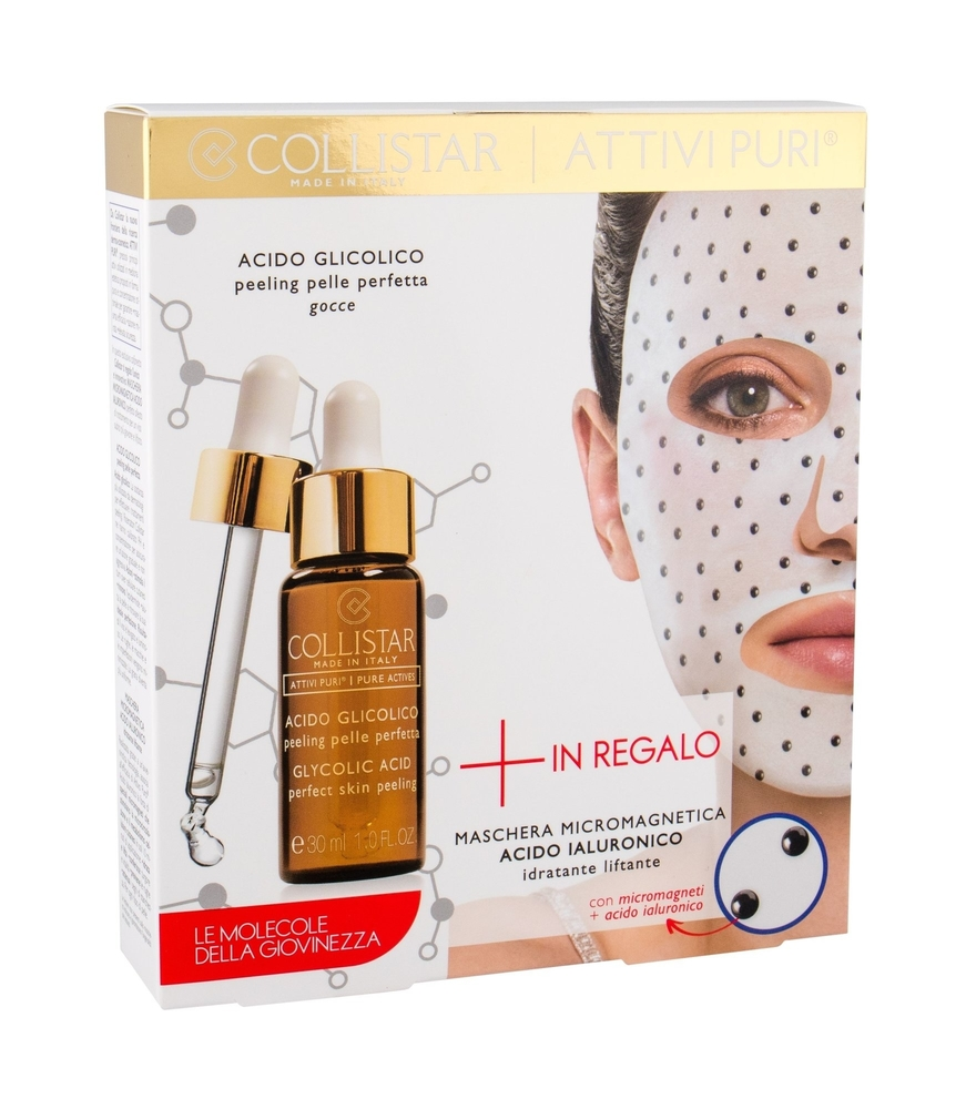 Collistar Pure Actives Collagen + Hyaluronic Acid Bust Skin Serum 30ml (All Skin Types - For All Ages)