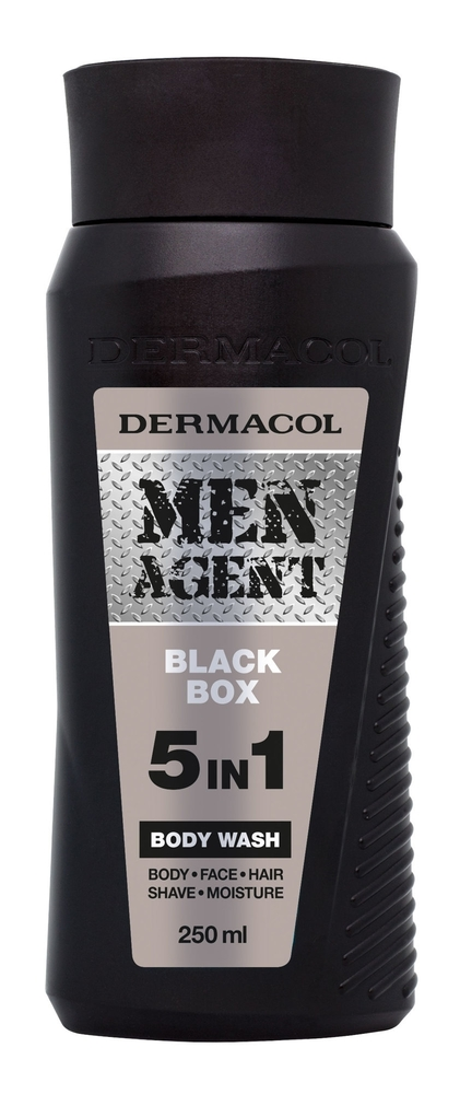 Dermacol Men Agent Black Box Shower Gel 250ml 5in1