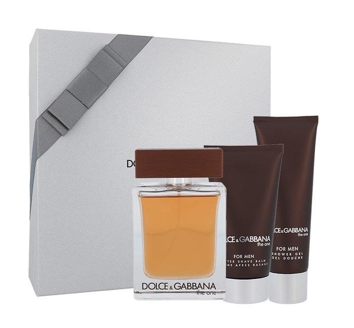 Dolce&gabbana The One For Men Eau De Toilette 100ml Combo: Edt 100ml + 75ml After Shave Balm + 50ml Shower Gel