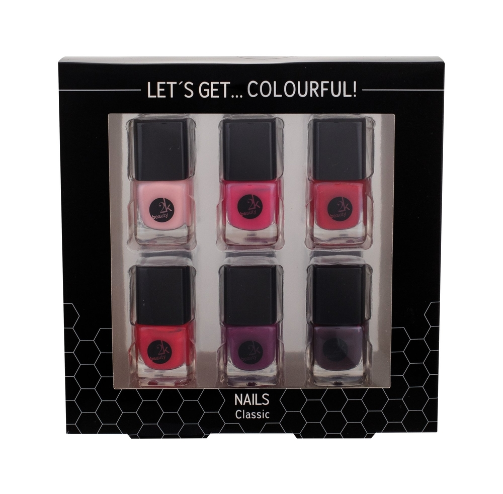 2k Let/s Get Colourful! Nail Polish 5ml Classics