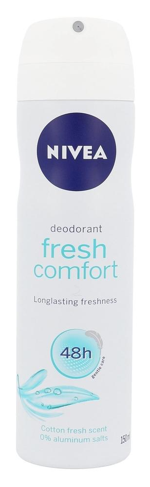 Nivea Fresh Comfort 48h Deodorant 150ml Aluminum Free (Deo Spray)