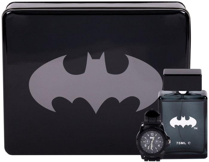 Dc Comics Batman Eau de Toilette 75ml Combo: Edt 75 Ml + Watches