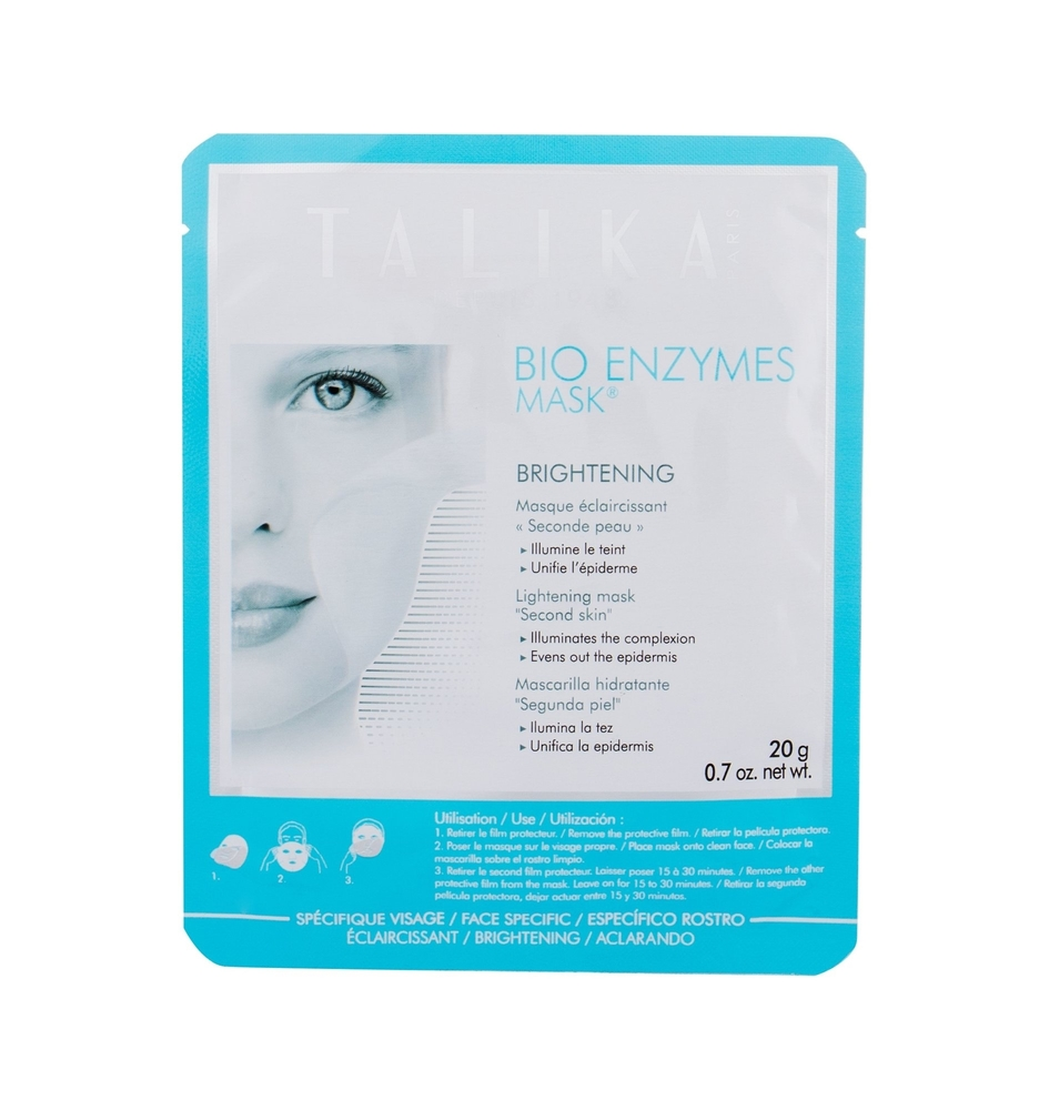 Talika Bio Enzymes Mask Brightening Face Mask 20gr (All Skin Types - For All Ages)