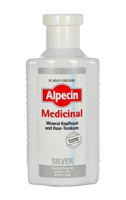 Alpecin Medicinal Silver Mineral Scalp & Hair Tonic Hair Oils And Serum 200ml (Grey Hair)
