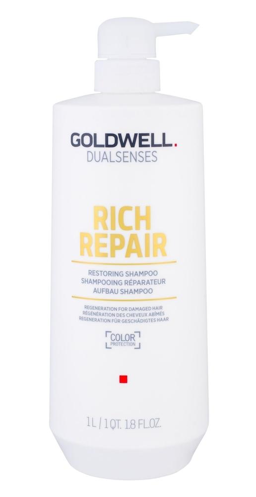 Goldwell Dualsenses Rich Repair Shampoo 1000ml (Brittle Hair - Dry Hair)