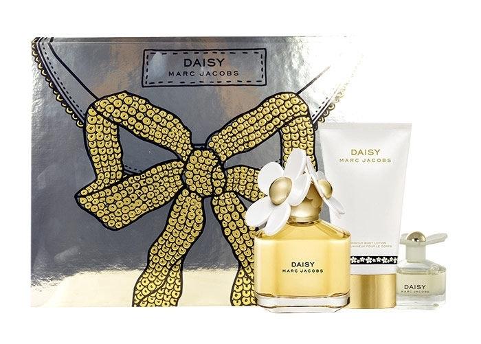 Marc Jacobs Daisy Eau De Toilette 100ml Combo: Edt 100ml + 150ml Body Milk + 4ml oμορφια   αρώματα   αρώματα γυναικεία